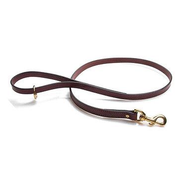 Mendota's English Bridle Leather Snap Lead