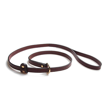 Mendota Leather Slip Lead