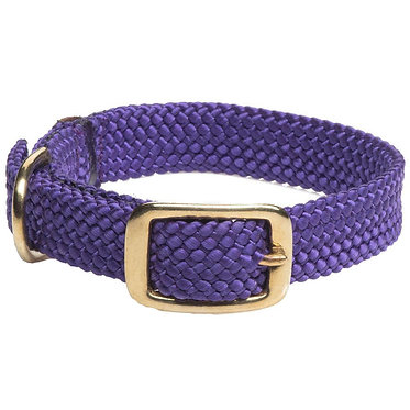 Signature Double Braid Collar Mendota Purple
