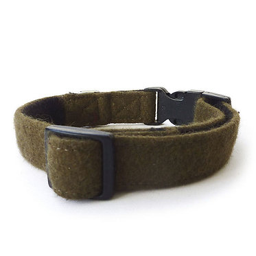 Hailey & Oscar UK Wool Collar Khaki