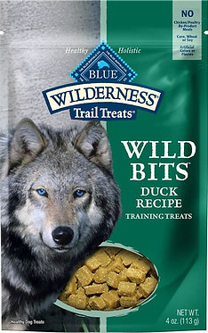 Blue Buffalo Wilderness Trail Treats Wild Bits Duck