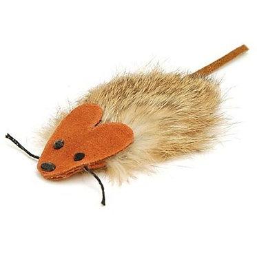 Rosie the Rat Cat Toy Suede Fur Boca Pet