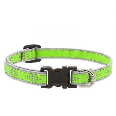 Lupine High Lights Dog Collar Diamond Green
