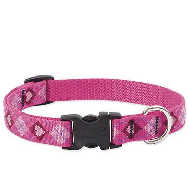 "Lupine 3/4"" Nylon Webbing Collar Puppy Love"