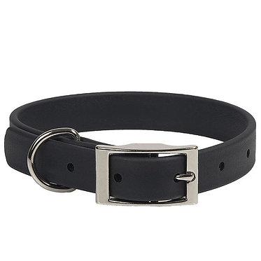 Mendota Durasoft Faux Leather Collar Black