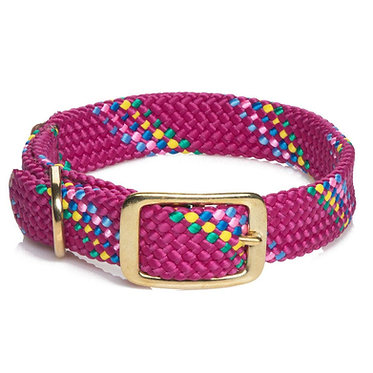 Signature Double Braid Collar Mendota Raspberry Confetti