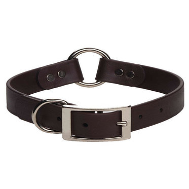 Mendota DuraSoft Safety Hunt Faux Leather Collar for Puppies Black
