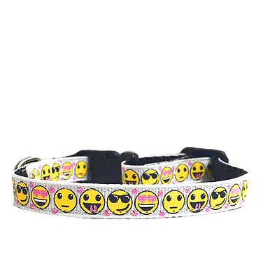 Paws n Claws Ribbon Collar for Cats Emojis