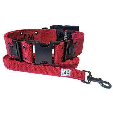 M1-K9 Big Dog Tactical Collar  Marine Red