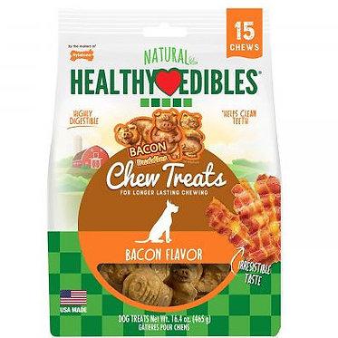 Nylabone Natural Healthy Edibles Chew Treats Bacon