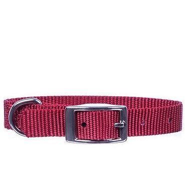 "Jeffers 5/8"" Nylon Collar Red"