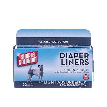 Simple Solution Dog Diaper Wrap Disposal Liner