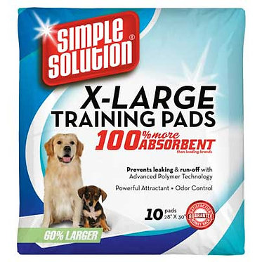 Simple Solution X-Large Training Pads 10-Count