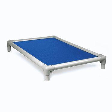 Kuranda Crate Bed Indestructible Chew Proof Royal Blue Almond Frame