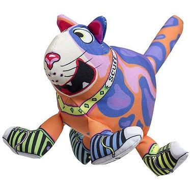 Fuzzu Squeaker Dog Toy Cat Scuff