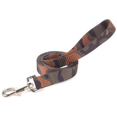 """Westminster Ruffin' It Camo Lead 1"""" X 6 ft. Nylon"""