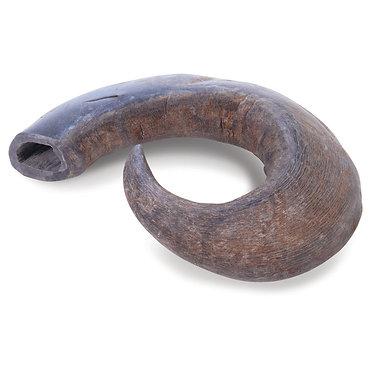 "Water Buffalo Hornz Horn Chew Large 8"" inch QT Dog"
