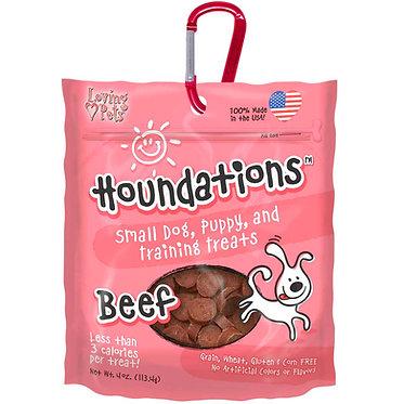 Houndations Training Treats Beef Loving Pets