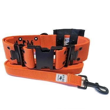 M1-K9 Big Dog Tactical Collar Safety Orange