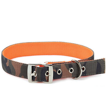 Reversible Camo/Reflective Orange Collar Westminster Pet 1""