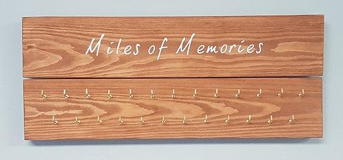 'Miles of Memories' Medal Hanger