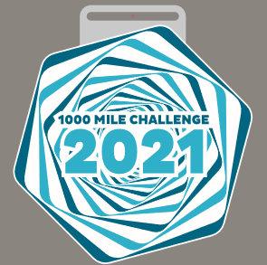1000 Mile Challenge 2021