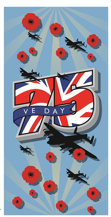 VE DAY 75 Year Anniversary Charity Snood