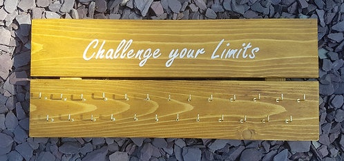 'Challenge Your Limits' Medal Hanger