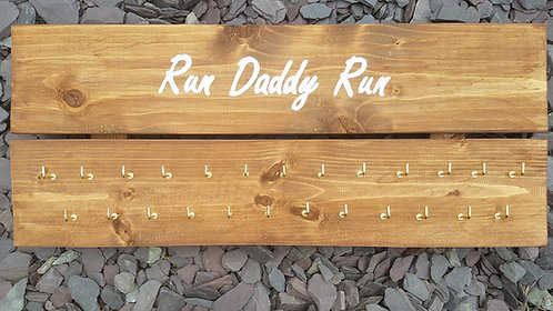 'Run Daddy Run' Medal hanger