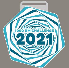 1000 KM Challenge 2021