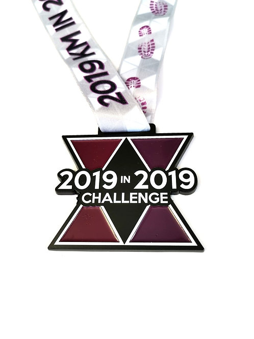 2019 KM in 2019 Challenge