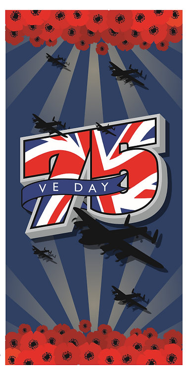 VE Day 75 Year Anniversary Snood