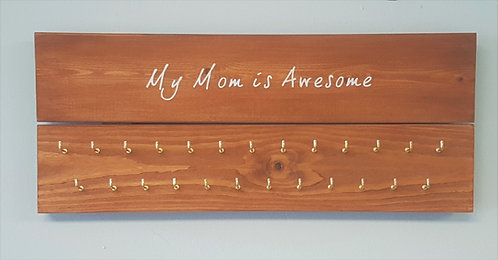 'My Mom Is Awesome' Medal Hanger