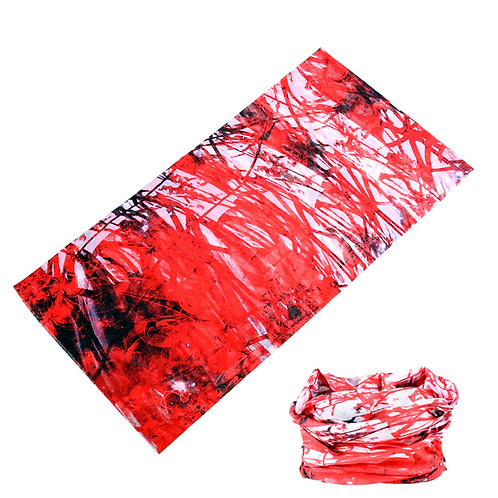 Red 'Paint Splatter' Snood