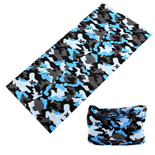 Blue Camo Snood