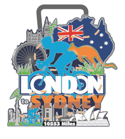 Cycle London to Sydney