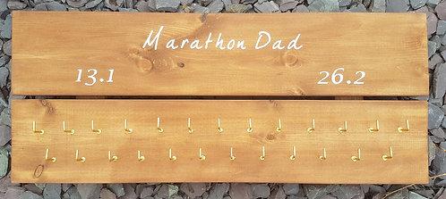 'Marathon Dad' Medal Hanger