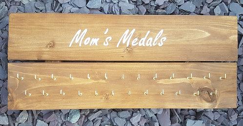 'Mom's Medals' medal hanger