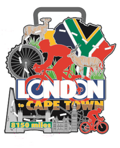 Cycle London to Cape Town