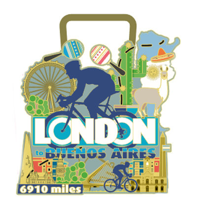 Cycle London to Buenos Aires