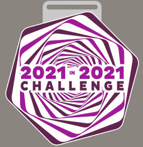 2021 in 2021 (KMs or Miles) challenge
