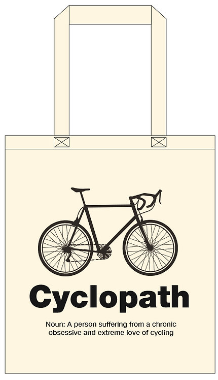 Cyclopath Tote Bag