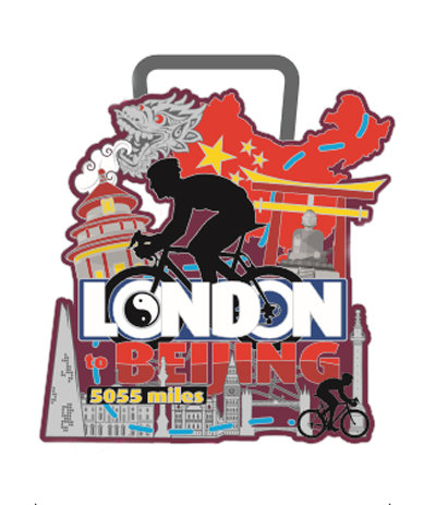 Cycle London to Beijing