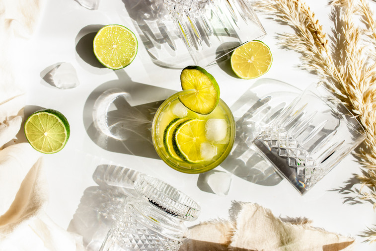 Marianne Haggstrom Food Photography | Summer in a glass