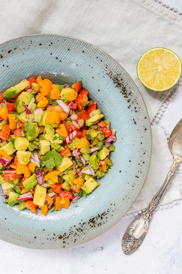 Marianne Haggstrom Food Photography | Avocado Salsa