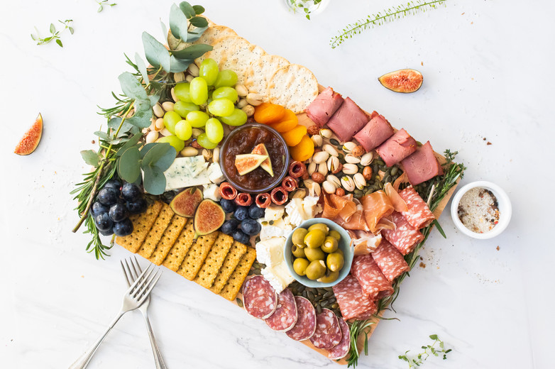 Marianne Haggstrom Food Photography | Grazing Platter by K V Creates