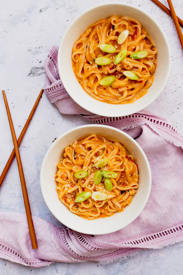 Marianne Haggstrom Food Photography | Coconut Milk Noodles