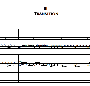 3. Transition (Baritone Sax)