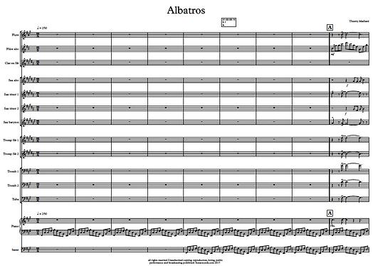Albatros - Flute