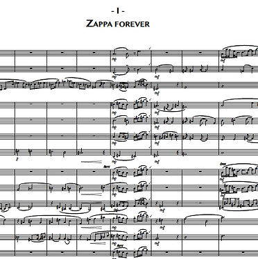 1. Zappa Forever (Trumpet 1)